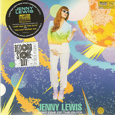 JENNY LEWIS - Just one of the guys     7inch     !!! NEU !!!     GREEN VINYL