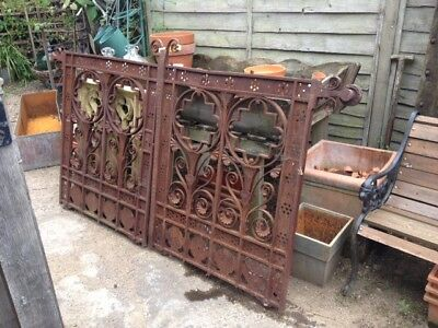 Victorian Wrought Iron Gates From Covent Gardens