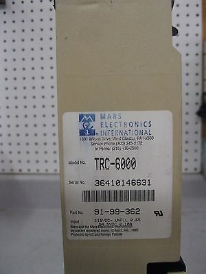 Mars TRC 6000 Electronic Coin Changer for soda pop vending machines see list