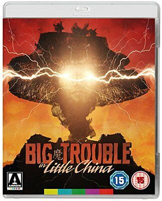 Big Trouble In Little China (Kurt Russell) Blu Ray Disc Only No Case Or Cover