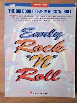 Vintage: The Big Book of Early Rock n Roll - Song Book - piano- vocal -Chords