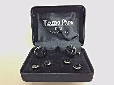Tuxedo Park stud and cufflink sets