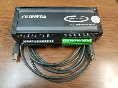 Omega OMB-DAQ-56 USB Data Acquisition Module for Thermocouples & Process Signals