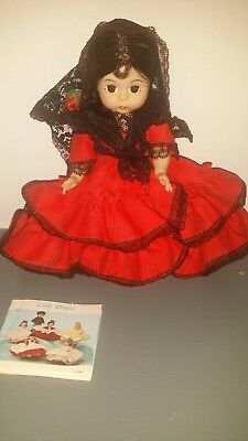 ~Vintage Madame Alexander - International Spain #595 with original box and tag~