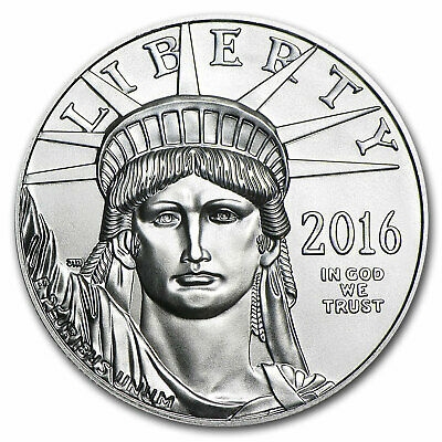2016 1 oz Platinum American Eagle BU - SKU #92376