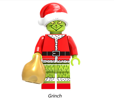 Grinch Collectible New Minifigures How the Grinch Stole Christmas Building Toys