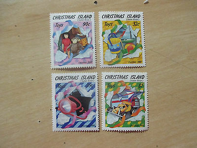 1988  Christmas  Island -Toys  &  Gifts  --   4  Stamps --Mint--Mnh--A1