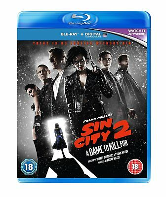 Sin City 2 A Dame To Kill For Blu Ray Disc Only No Case Or Cover