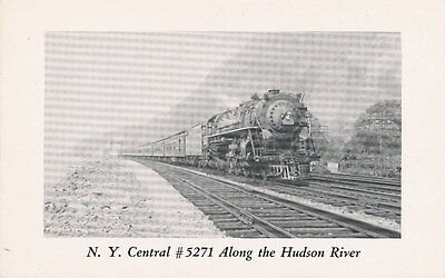 NY Central #5271 Train * Poughkeepsie Hudson River   Railroad