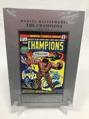 Champions Volume 1 Collects #1-17 & More Marvel Masterworks HC New Sealed $100