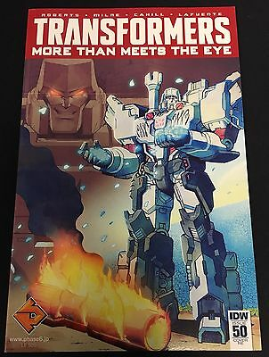 TRANSFORMERS MORE THAN MEETS THE EYE #50 Griffith Tsushima PHASE6 Variant IDW