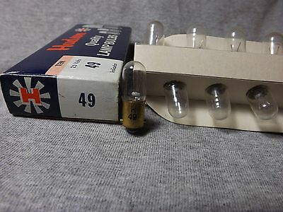 Vintage, Hudson , Miniature ,  Automotive ,Lamp ,Bulb , No , 49 , 2.0 v,