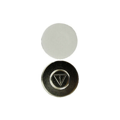 x1 Magnetic Name Badge Tag Attachment - Self Adhesive Magnet - Super Strong T02