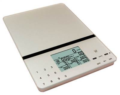 Cesto Kitchen & Multifunction Scales in Silver Gray [ID 44090]