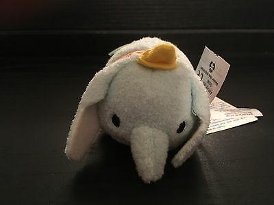 "Disney Tsum Tsum Dumbo   3.5"" mini plush NWT"
