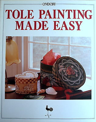Ondori Craft Book - TOLE PAINTING MADE EASY - Gifts Homeware Dinnerware Babies