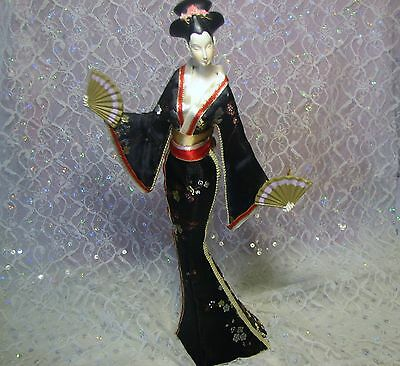 Vintage Oriental Asian Japanese/chinese Beautiful Hard Plastic Doll