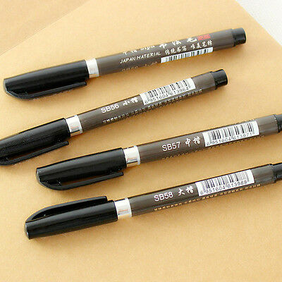 Calligraphy class Pen Gift Set With Nibs Ink & Guide Book Manuscript 3 Colors..
