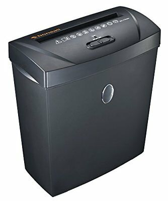 Bonsaii C170-A 8-Sheet Cross-Cut Paper Shredder, Overload and Thermal