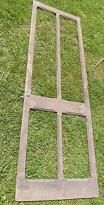 Antique Victorian Wood Screen Door 94 x 29