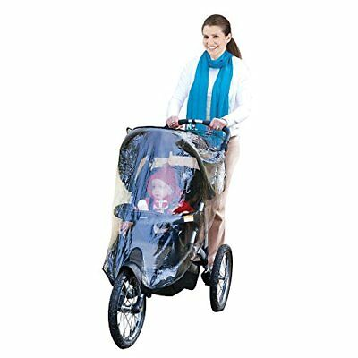 J is for Jeep Jogging Stroller Weather Shield, Baby Rain Cover, Universal