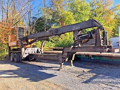 Husky Brute XL-335 Log Loader Knuckleboom Crane 1998 Precision Self Propelled