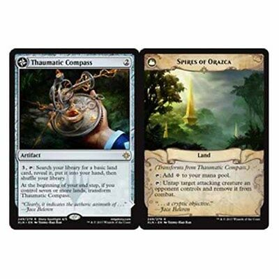 *Magic MtG: Thaumatic Compass / Spires of Orazca (Rare) - IXALAN *TOP*