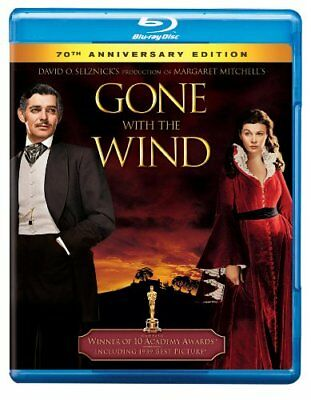 Gone with the Wind (70th Anniversary Edition) [Blu-ray], Clark Gable