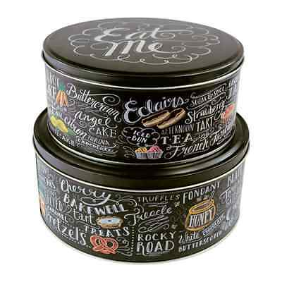 Lily & Val Set of 2 Cake Tins - Modern Cake Tin Set - Gift Idea Baking Bake Off