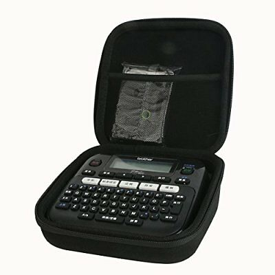 Khanka Carrying Storage Organizer Case Bag for Brother P-Touch PT-D210 Label