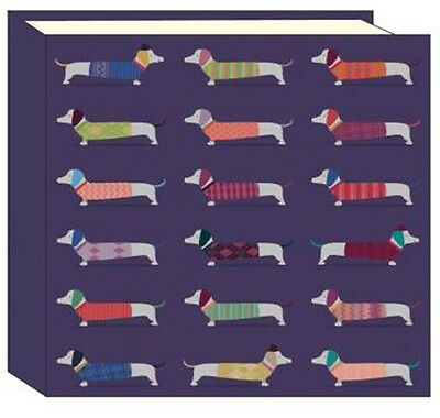 Artfile Frank Sausage Dog Photo Album - Quality hardback album - Great Gift Idea