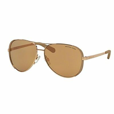 Michael Kors 5004 1017R1 MK Chelsea Rose Gold Sunglasses
