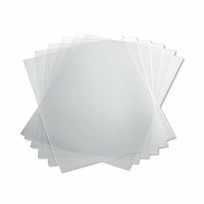 TruBind 10 Mil 8-1/2 x 11 Inches PVC Binding Covers - Pack of 100, Clear