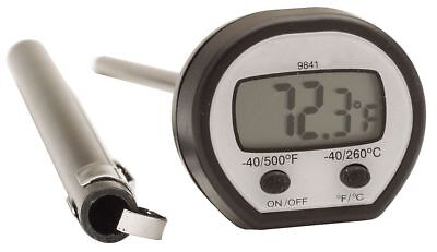Taylor Digital Pocket Thermometer, LCD, 4-3/4In L - 9841