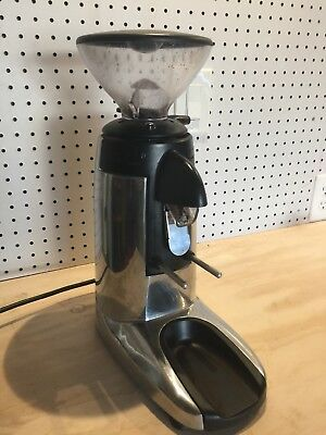Compak K3 Touch Burr Coffee Grinder - Chrome