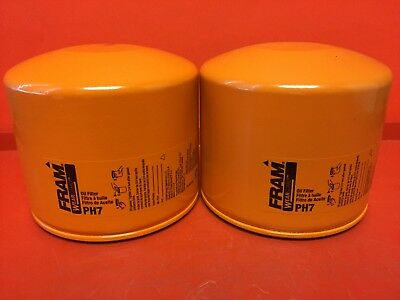 LOT OF 2 Engine Oil Filter-Extra Guard Fram PH7 for Alfa Romeo,FORD,Lancia,