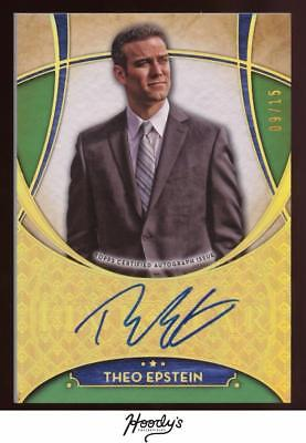 2017 topps five star theo epstein on card auto cubs sp auto cad picclick ca. Black Bedroom Furniture Sets. Home Design Ideas