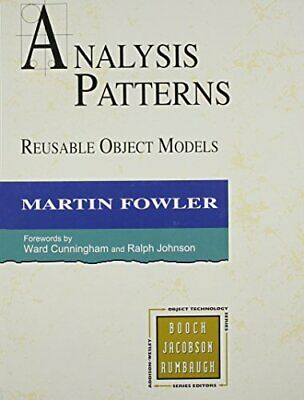 Analysis Patterns: Reusable Object Models (OBT) by Fowler, Martin Hardback Book