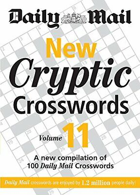 Daily Mail: New Cryptic Crosswords 11 (The Daily Mail... by Daily Mail Paperback