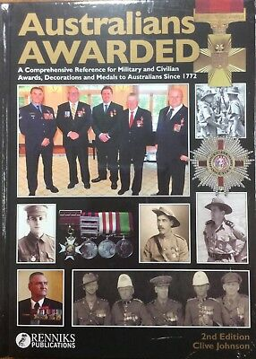 Australians awarded 2nd edition military and civilian awards decorations