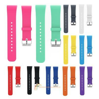 Silicone Watch Band Replacement for Samsung Gear Fit 2 SM-R360/Fit2 Pro R365