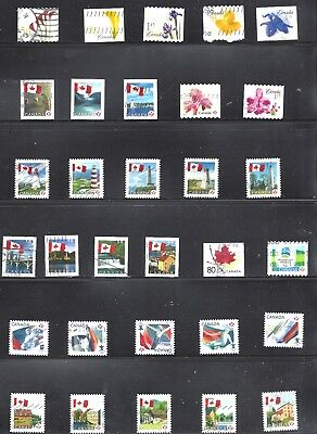 Canada SELECTION OF PERM/HIGH VALUE FLOWERS USED (BS10769)