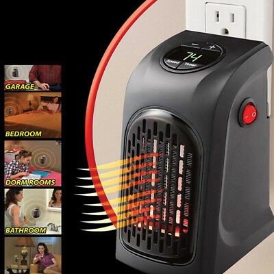 Winter Electric Home Handy Heater Stove Hand Warmer Plug-In 350W Wall Heater New