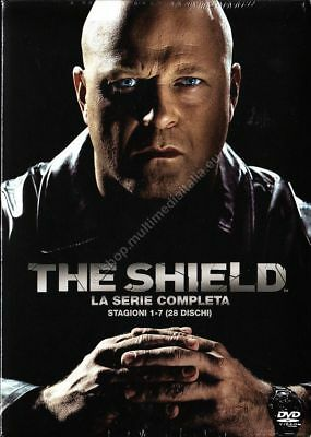 The Shield - Serie Tv - La Serie Completa - Stagioni 1-7 - Cofanetto 28 Dvd
