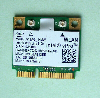 Intel WiFi Link 5100 Model 512AG_HMW   802.11a/b/g