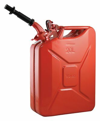 Wavian Gas Can, 5 gal., Red, Include Spout - 2238C