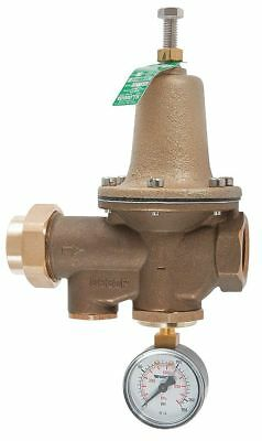 Watts Water Pressure Reducing Valve, Standard Valve Type, Lead Free Brass, 1/2""