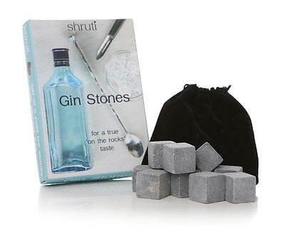 9 Pcs Gin Stones Chilling Rocks Ice Cubes Drinks Beverage Cooler Whiskey Scotch