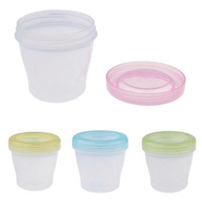 Baby Storage Cups Baby Food Containers Reusable Stackable Storage Cups