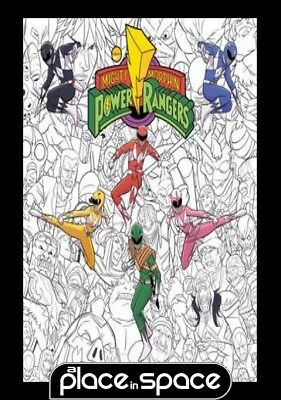 Mighty Morphin Power Rangers Adult Coloring Book - Softcover